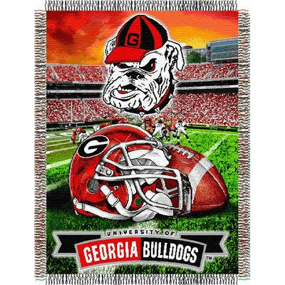 NCAA Georgia Tapestry Throw
