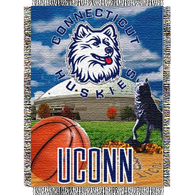 NCAA Connecticut Tapestry Throw