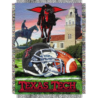 NCAA Texas Tech Tapestry Throw