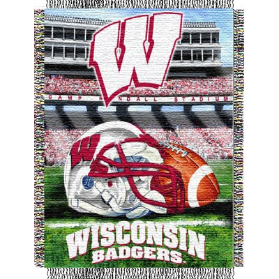 NCAA Wisconsin Tapestry Throw