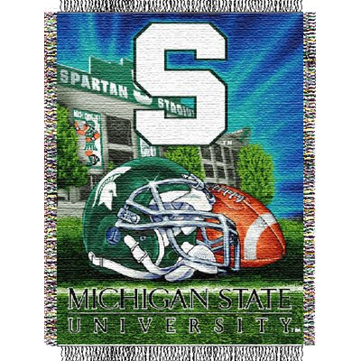 NCAA Michigan State Tapestry Throw