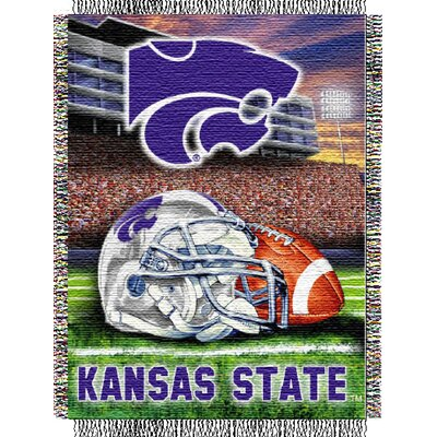 NCAA Kansas State Tapestry Throw
