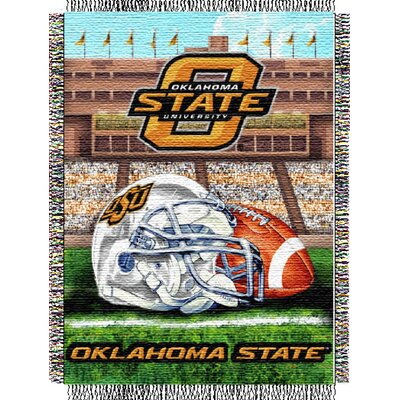 College NCAA Oklahoma State Tapestry Throw