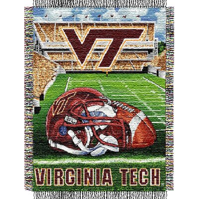 NCAA Virginia Tech Tapestry Throw