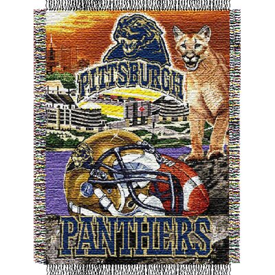 NCAA Pittsburgh Tapestry Throw