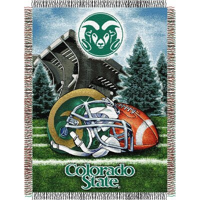 NCAA Colorado State Tapestry Throw