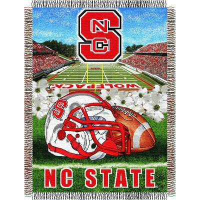 NCAA North Carolina State Tapestry Throw