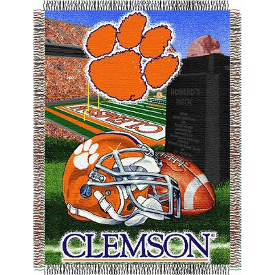 NCAA Clemson Tapestry Throw