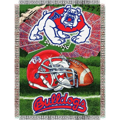 NCAA Fresno State Tapestry Throw