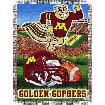 NCAA Minnesota Tapestry Throw