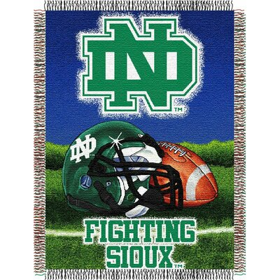 NCAA North Dakota Tapestry Throw