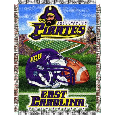 NCAA East Carolina Tapestry Throw