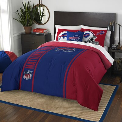 NFL Bills Helmet Comforter Set Size: Full