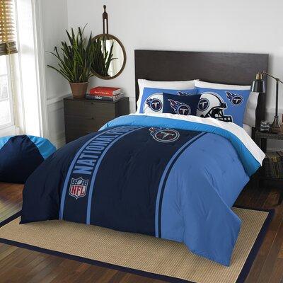 NFL Titans Helmet Comforter Set Size: Full