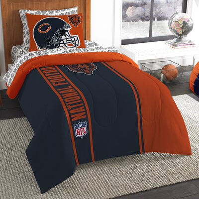 NFL Bears Comforter Set Size: Twin