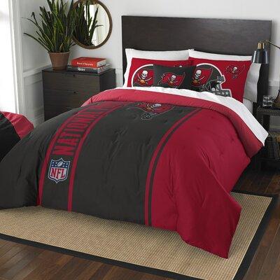 NFL Buccaneers Comforter Set Size: Full