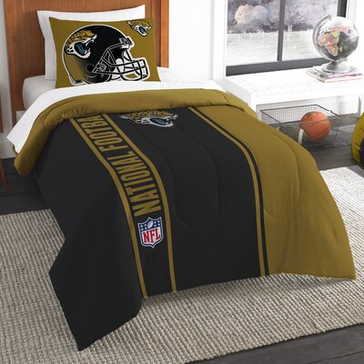 NFL Jaguars Comforter Set Size: Twin