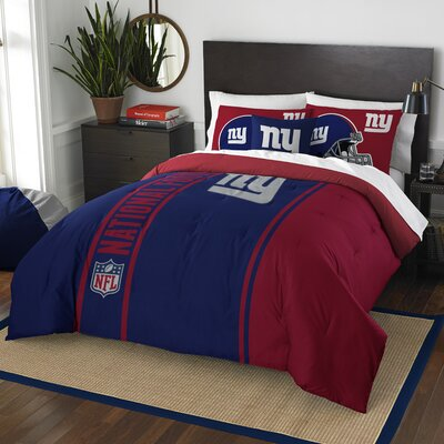 NFL New York Giants Helmet Comforter Set 1NFL836000081BBB