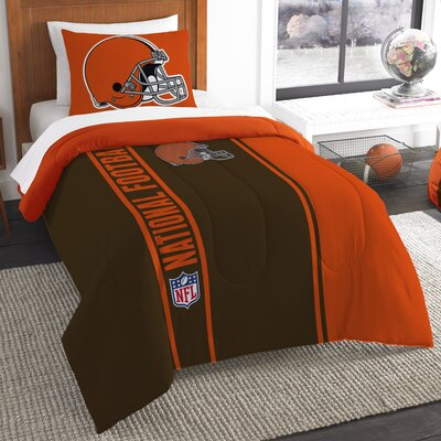 NFL Browns Comforter Set Size: Twin