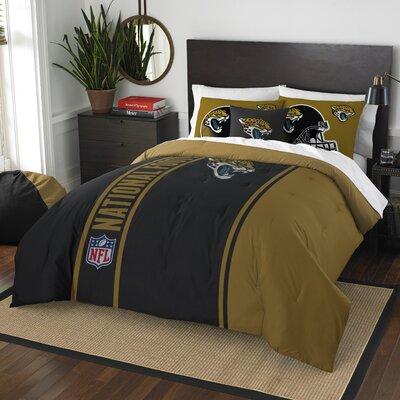 NFL Jaguars Comforter Set Size: Full