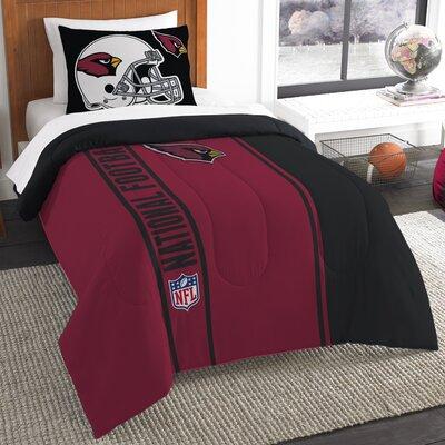 NFL Cardinals Helmet Comforter Set Size: Twin