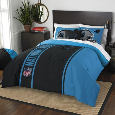 NFL Panthers Helmet Comforter Set Size: Full