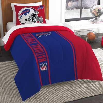 NFL Bills Helmet Comforter Set Size: Twin