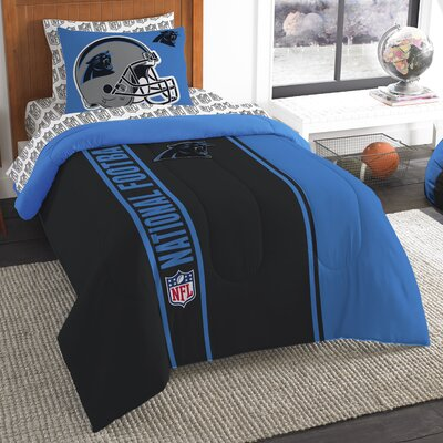NFL Panthers Comforter Set Size: Twin