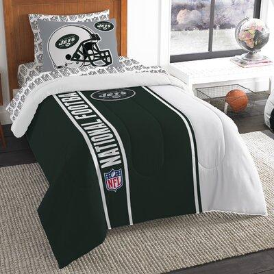 NFL Jets Comforter Set Size: Twin