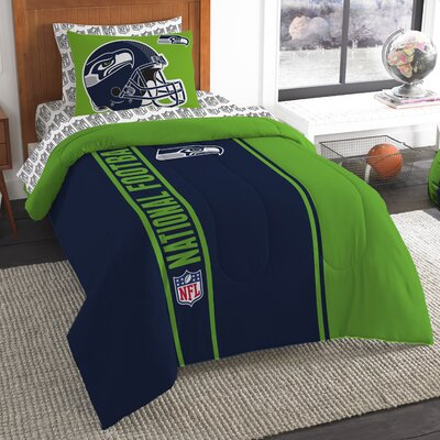 NFL Seahawks Comforter Set Size: Twin