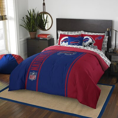 NFL Bills Comforter Set Size: Full