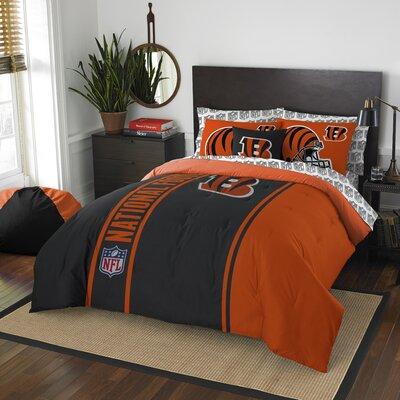 NFL Bengals Comforter Set Size: Full