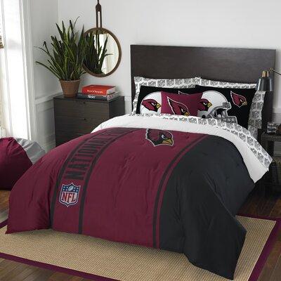 NFL Cardinals Comforter Set Size: Full