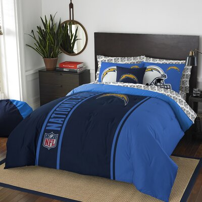 NFL Chargers Comforter Set Size: Full