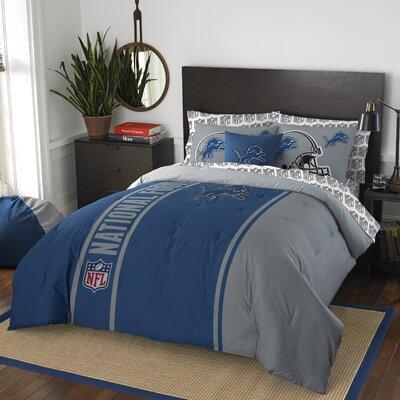 NFL Lions Comforter Set Size: Full