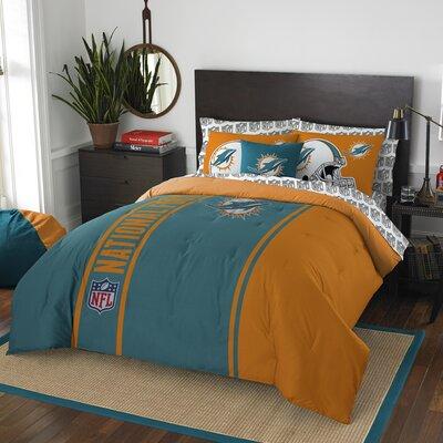 NFL Dolphins Comforter Set Size: Full