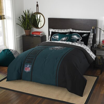 NFL Eagles Comforter Set Size: Full