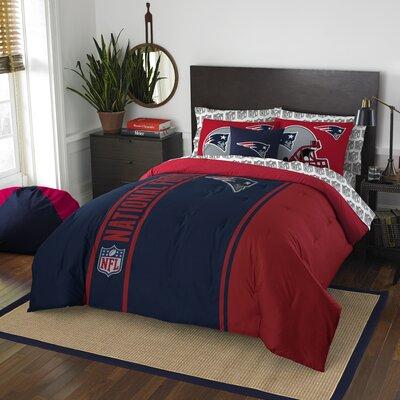 NFL Patriots Comforter Set Size: Full