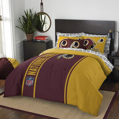 NFL Redskins Comforter Set Size: Full