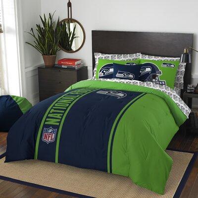 NFL Seahawks Comforter Set Size: Full
