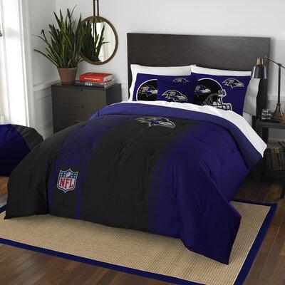 NFL Ravens Helmet Comforter Set Size: Full
