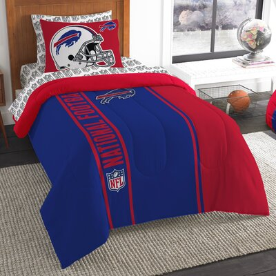 NFL Bills Comforter Set Size: Twin