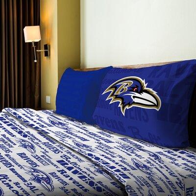 NFL Ravens Anthem Sheet Set Size: Twin