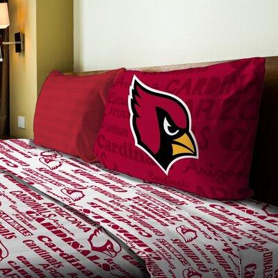 NFL Cardinals Anthem Sheet Set Size: Twin
