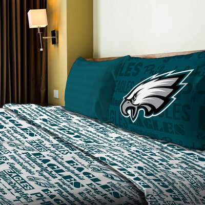 NFL Eagles Anthem Sheet Set Size: Full