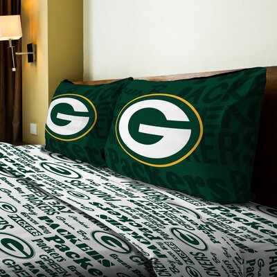 NFL Packers Anthem Sheet Set Size: Twin