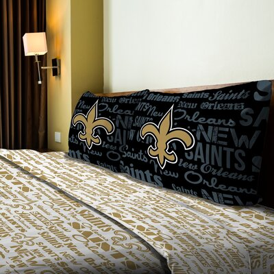 NFL Saints Anthem Sheet Set Size: Full