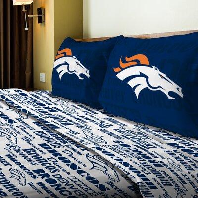 NFL Broncos Anthem Sheet Set Size: Full