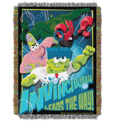 Spongebob - Invincibubble Woven Throw Blanket