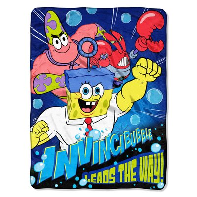 SpongeBob Movie - Lead the Way Polyester Throw